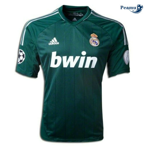 Classico Maglie Real Madrid Exterieur Verde 2012-13