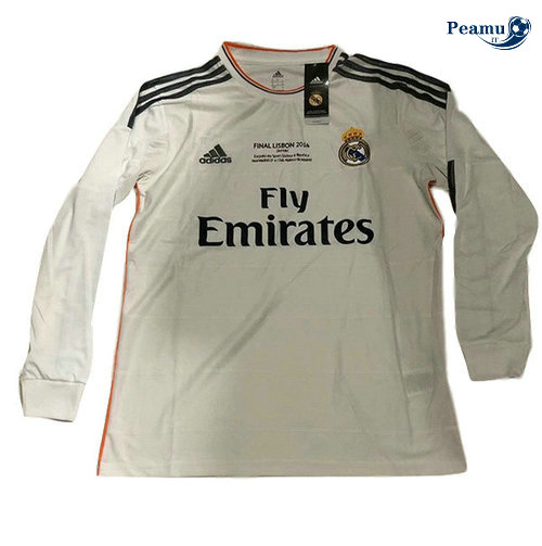 Classico Maglie Real Madrid Champions League Manche Longue 2014