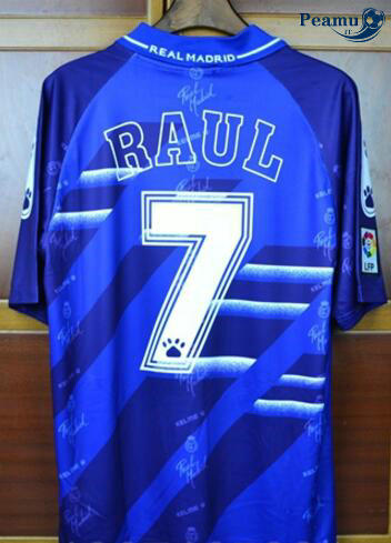 Classico Maglie Real Madrid Exterieur purple (7 Raul) 1994-96