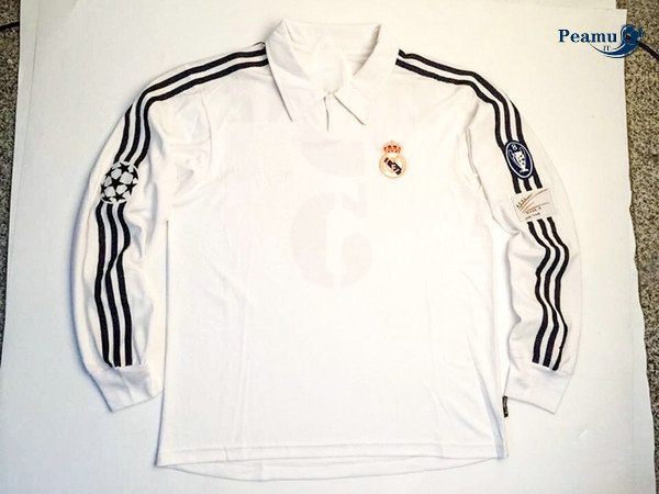 Classico Maglie Real Madrid Manche Longue 2002-03