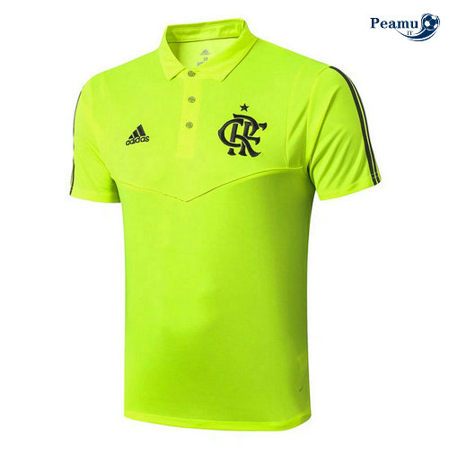 Maillot foot Flamengo Pre-Match Verde POLO 2019-2020