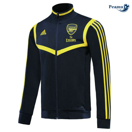 Veste foot Arsenal Bleu navy/Jaune 2019-2020 Collo Alto