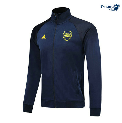 Veste foot Arsenal Bleu navy 2019-2020 Collo Alto