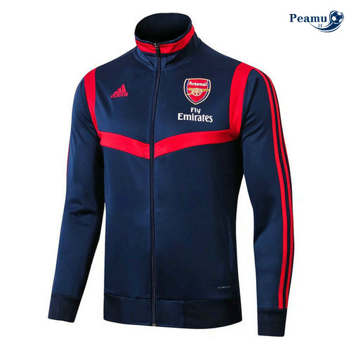 Veste foot Arsenal Bleu navy/Rouge 2019-2020