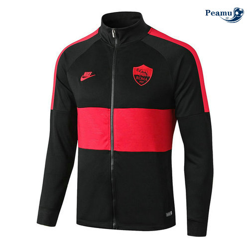 Veste foot AS Rome Noir/Rouge 2019-2020