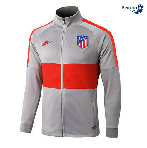 Veste foot Atletico Madrid Gris/Rouge 2019-2020