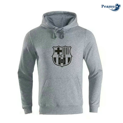 Sweat à capuche Barcelone Gris 2019-2020