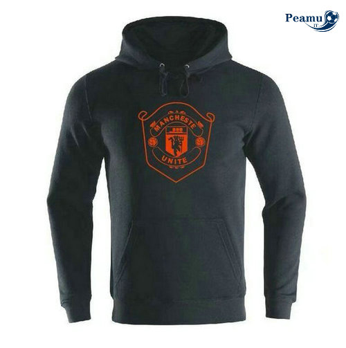 Sweat à capuche Noir Manchester United 2019-2020