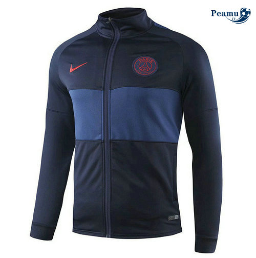 Veste foot PSG Bleu navy 2019-2020 Collo Alto