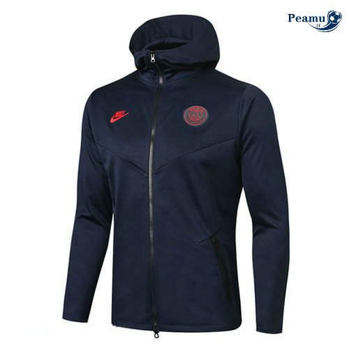 Sweat à capuche PSG Bleu navy 2019-2020
