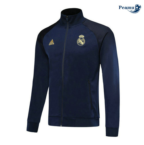 Veste foot Bleu navy Real Madrid 2019-2020 M108