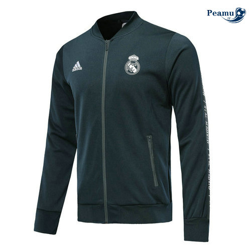 Veste foot Bleu navy Real Madrid 2019-2020 M109
