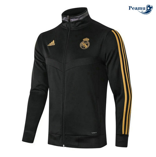 Veste foot Noir Real Madrid 2019-2020
