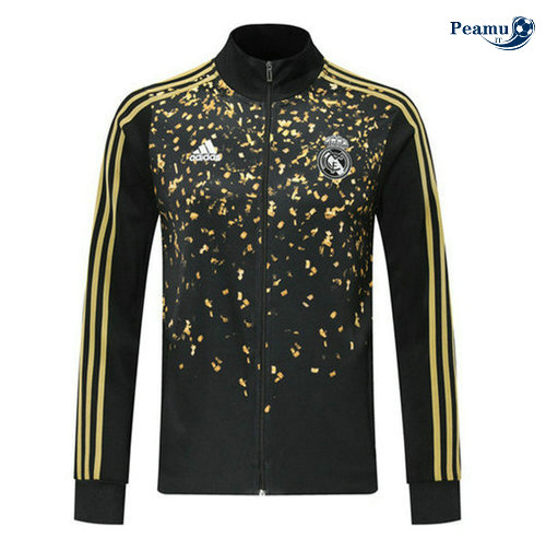 Veste foot Real Madrid edition star Noir/Jaune 2019-2020