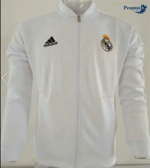 Veste foot Real Madrid Bianco 2019-2020