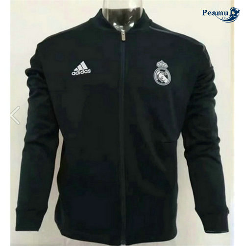 Veste foot Real Madrid Noir 2019-2020