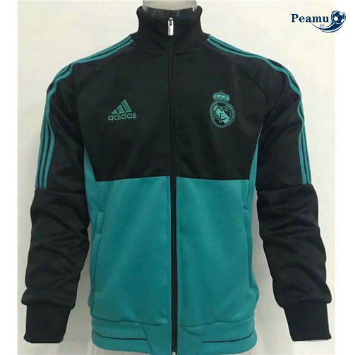 Veste foot Noir/Verde Real Madrid 2019-2020