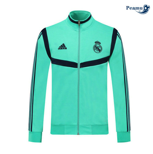 Veste foot Real Madrid Verde/Bleu clair 2019-2020