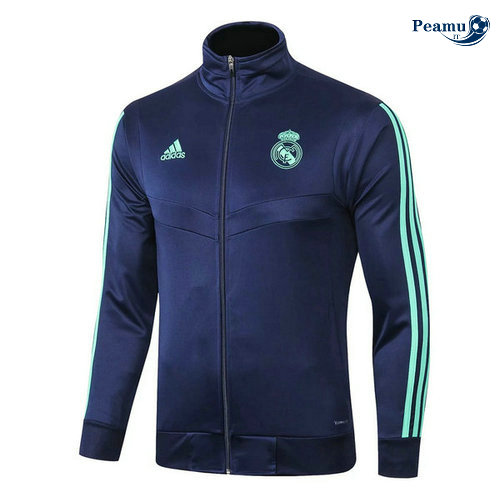 Veste foot Real Madrid Bleu navy 2019-2020