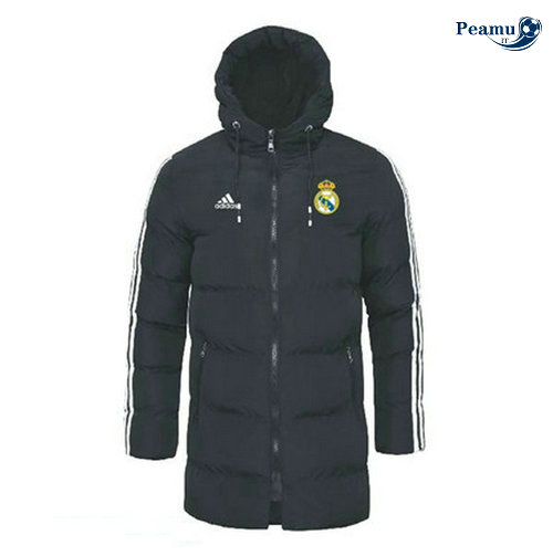 Giacca Cappotto Imbottito Real Madrid Noir 2019-2020