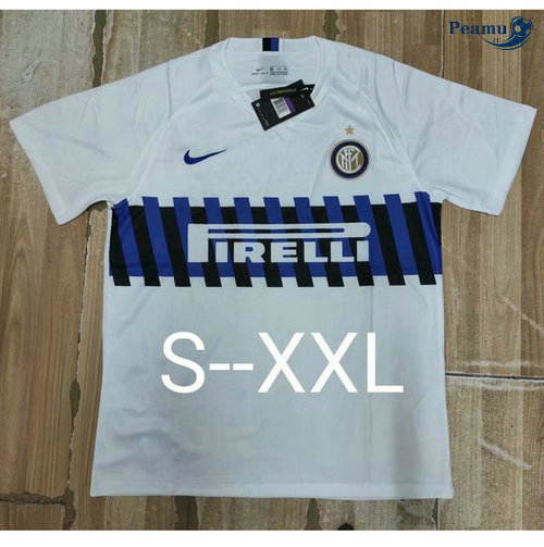 Maillot foot Inter Milan Bianco 2019-2020