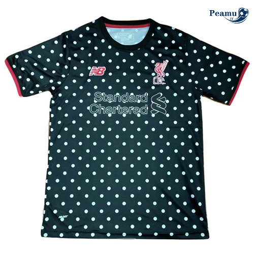 Maillot foot Liverpool training Noir Bianco 2019-2020