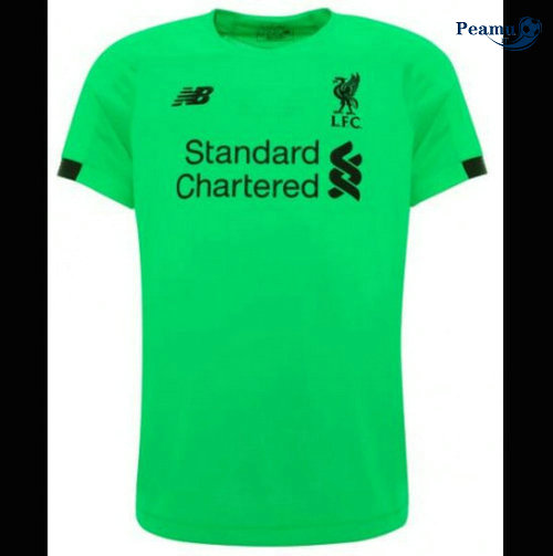 Maillot foot Liverpool Portiere Verde 2019-2020