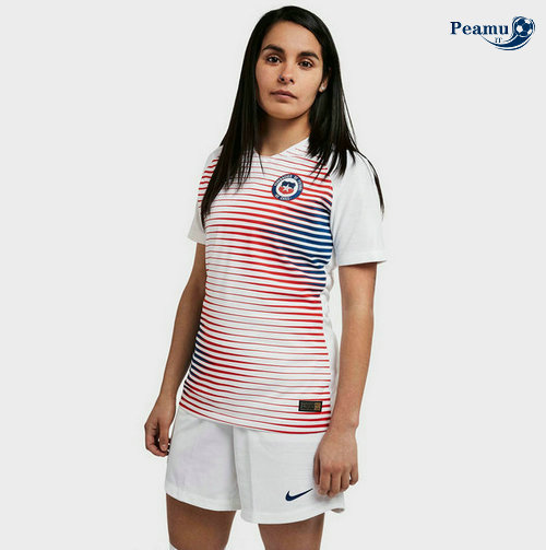Maillot foot Chili Femme Exterieur 2019-2020