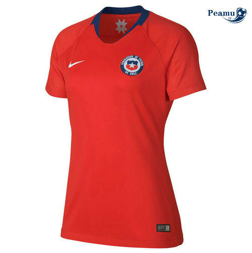 Maillot foot Chili Femme Domicile 2019-2020