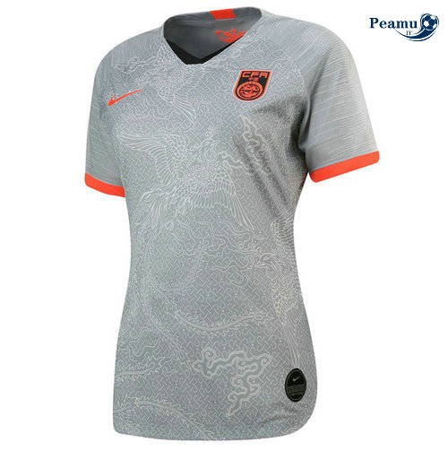 Maillot foot Chine Femme Domicile 2019-2020