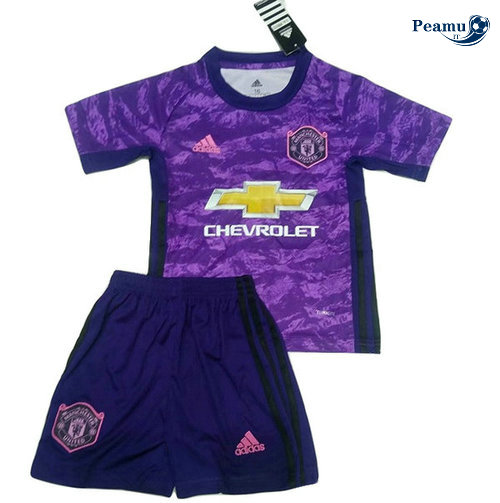 Maillot foot Manchester united Portiere Porpora 2019-2020 M046