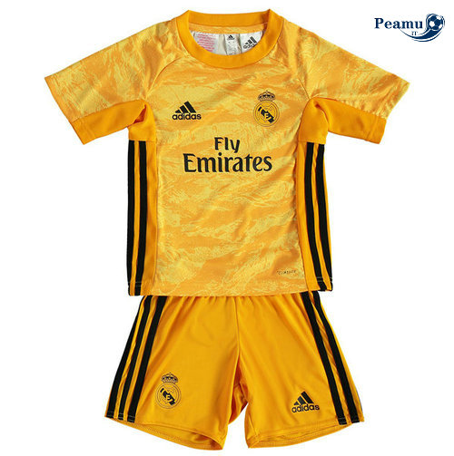 Maillot foot Real Madrid Enfant Jaune 2019-2020