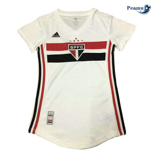 Maillot foot Sao Paulo Femme Bianco 2019-2020