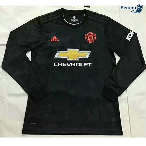 Maillot foot Manchester United Third Manche Longue 2019-2020