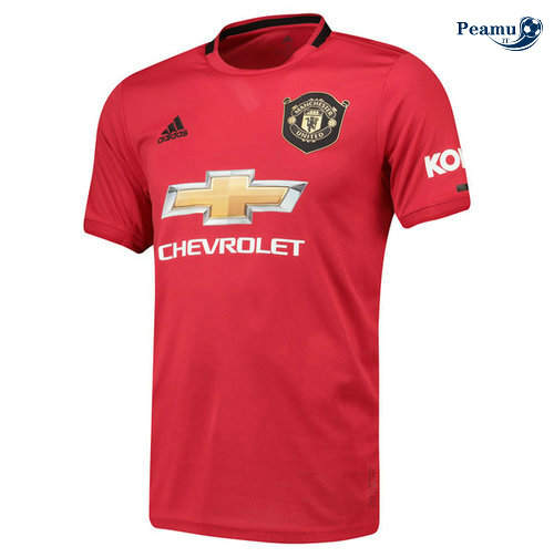 Maillot foot Manchester United Domicile Rouge 2019-2020