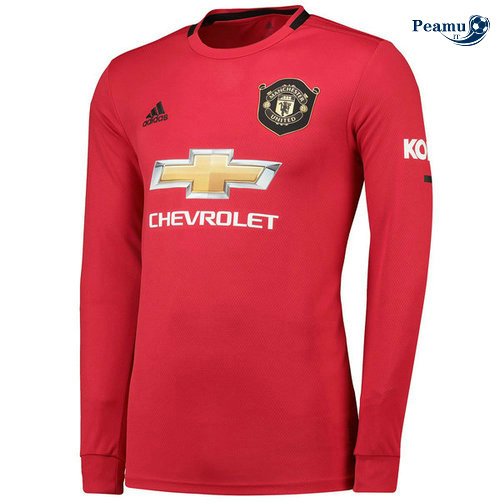 Maillot foot Manchester United Domicile Manche Longue 2019-2020