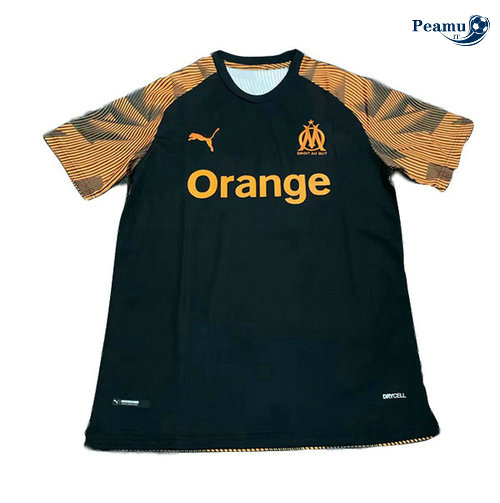 Maillot foot Marseille Training Noir/Jaune 2019-2020