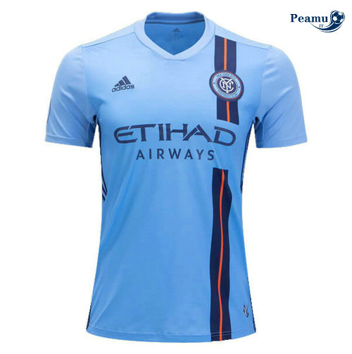 Maillot foot New York City Domicile Bleu clair 2019-2020
