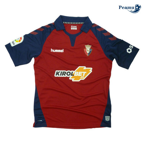 Maillot foot Osasuna Domicile Rouge 2019-2020