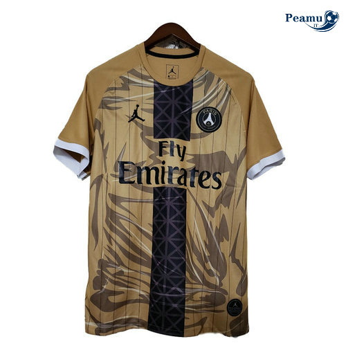 Maillot foot PSG Or Version Fuite 2019-2020