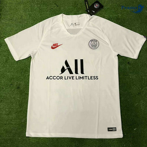 Maillot foot PSG All Training Bianco 2019-2020