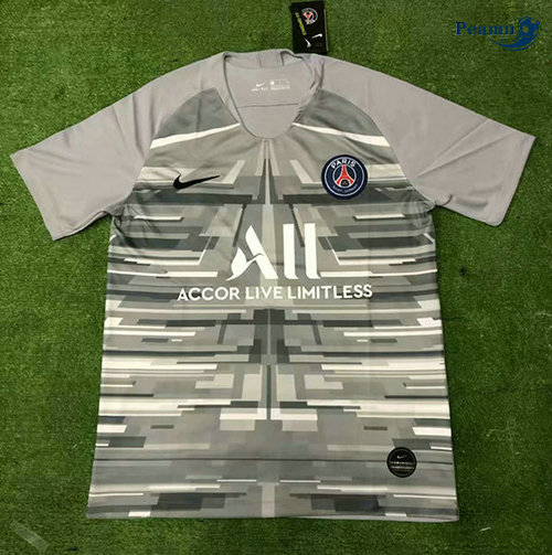 Maillot foot PSG Training Gris 2019-2020