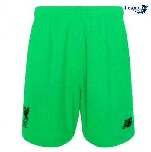 Short da calcio Liverpool Verde 2019-2020