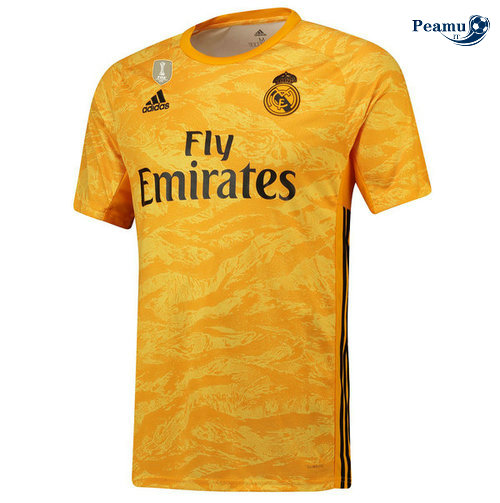 Maillot foot Real Madrid Portiere Jaune 2019-2020