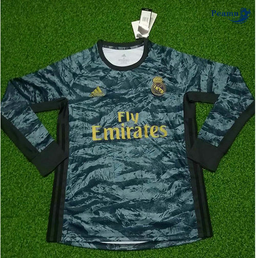 Maillot foot Real Madrid Portiere Manche Longue 2019-2020