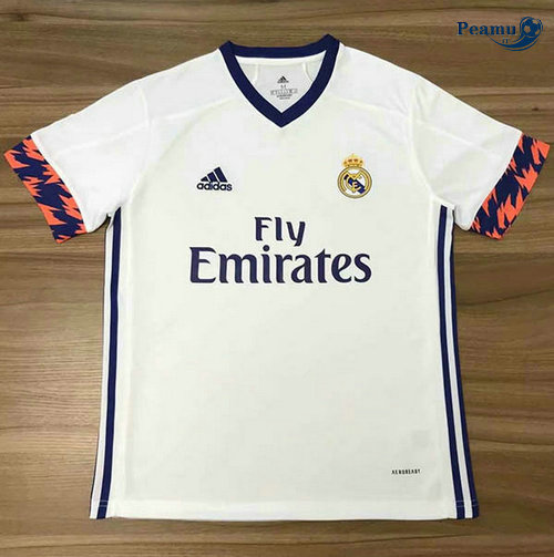 Maillot foot Real Madrid Bianco 2020-2021
