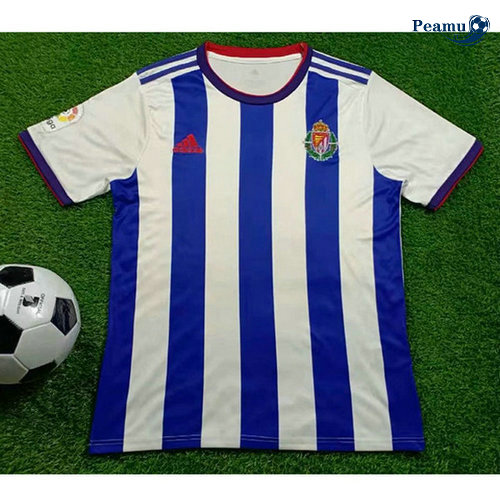 Maillot foot Real Valladolid Exterieur Bleu clair/Bianco 2019-2020
