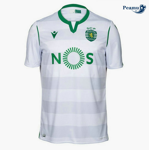 Maillot foot Sporting Lisbon Third Bianco 2019-2020
