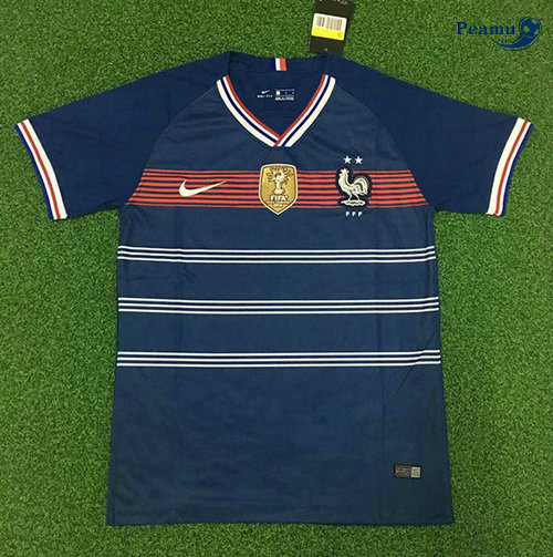 Maillot foot France 2 Etoiles Retro 2019-2020