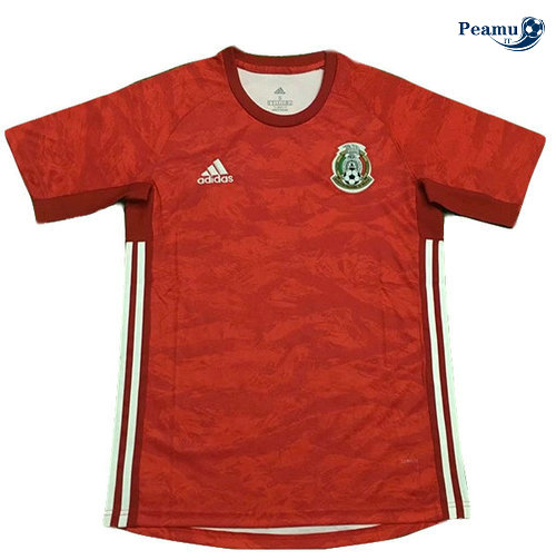 Maillot foot Mexique Rouge Portiere 2019-2020